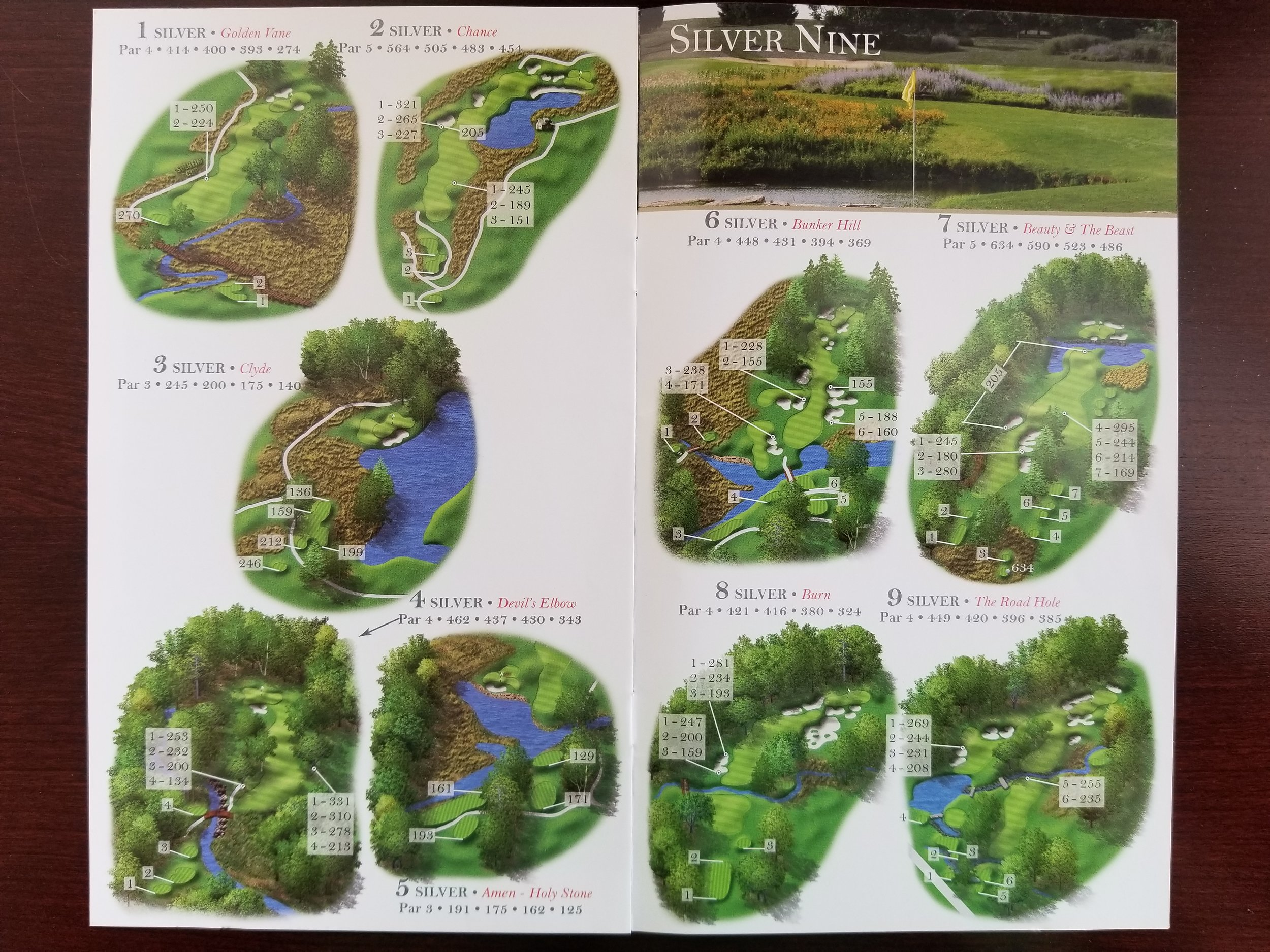 Silver Nine Course Guide for Rich Harvest Farms