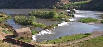 Guadiana River cereal Mills, scattered along the river.