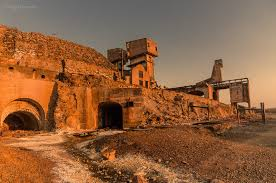 MiNa S. Domingos Abandoned copper mine. Fantastic Landscape with several colours. From Mina ask for the Dust Road to Santana de Cambas