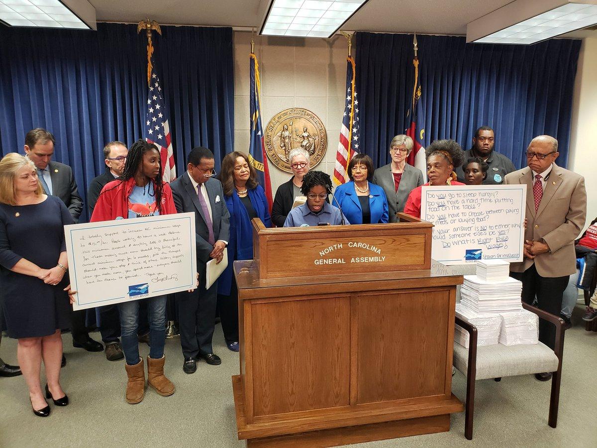 Eshawney Gaston, Waffle House worker, Fight for $15 / Raise Up