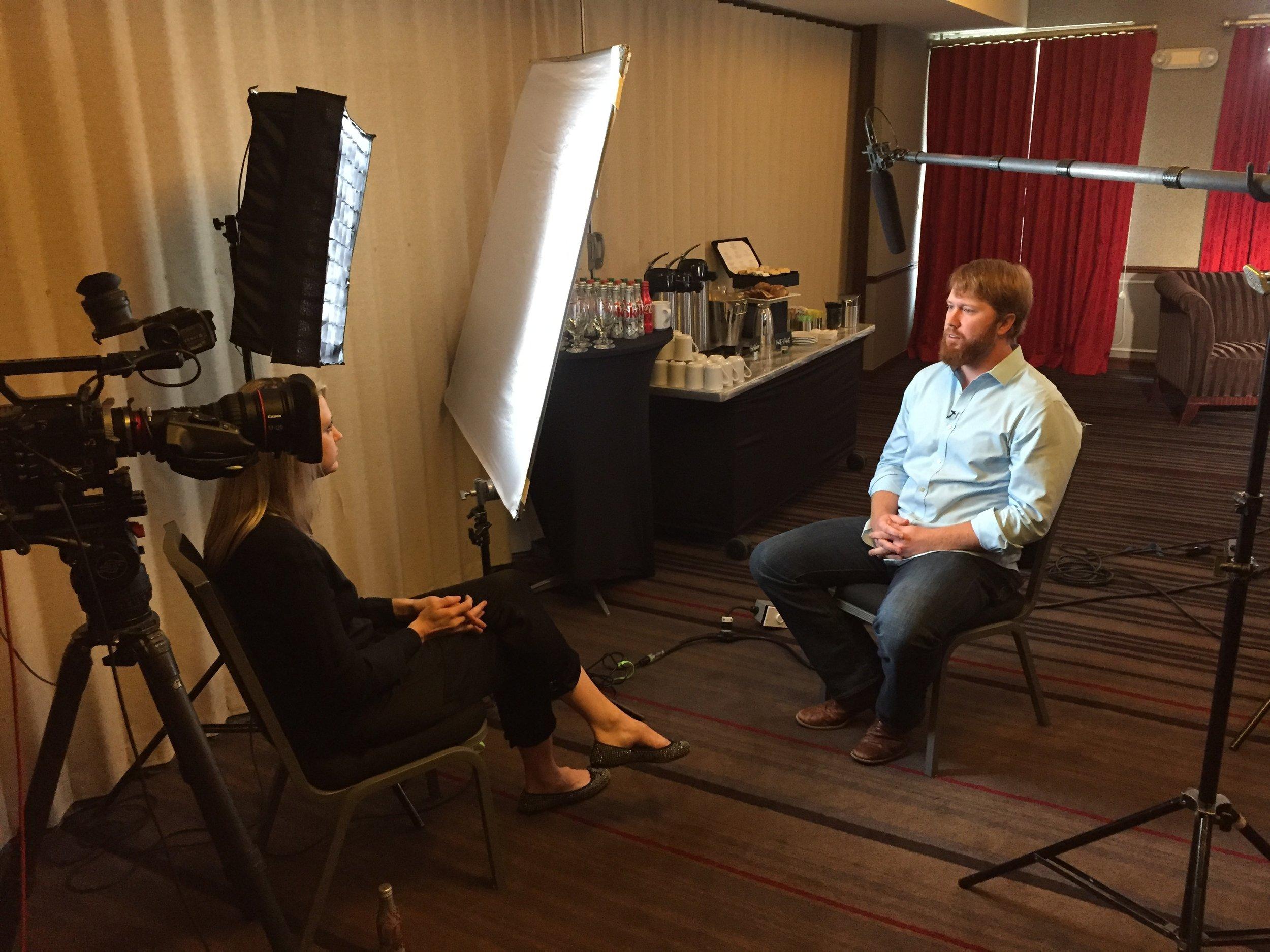 ABC Nightline interview.