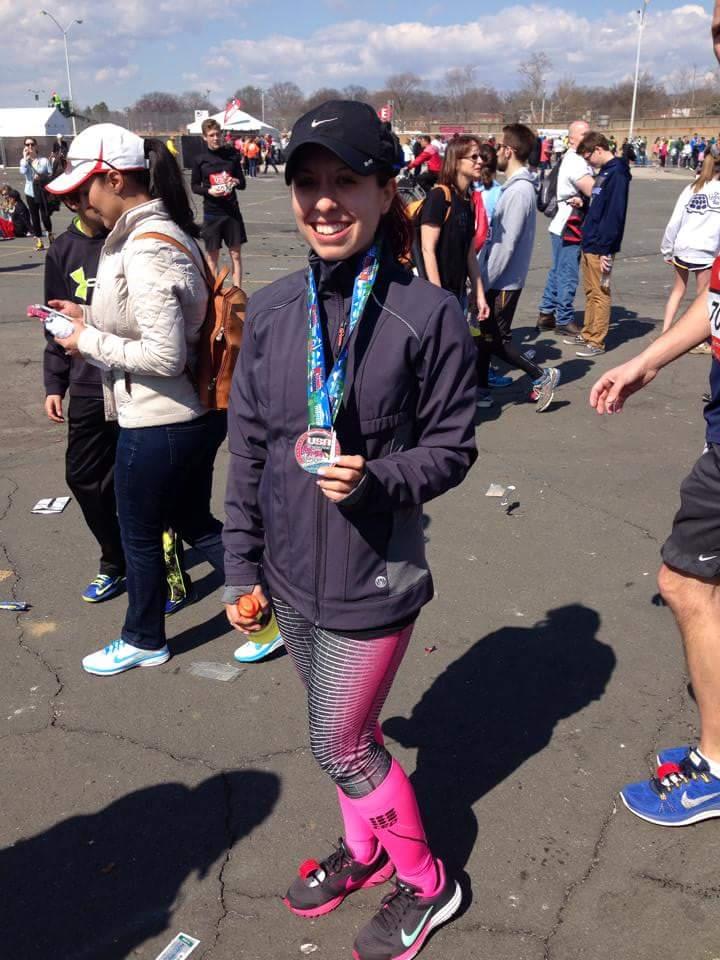 Me at the Rock and Roll Half marathon in Washington DC, my first half marathon!!