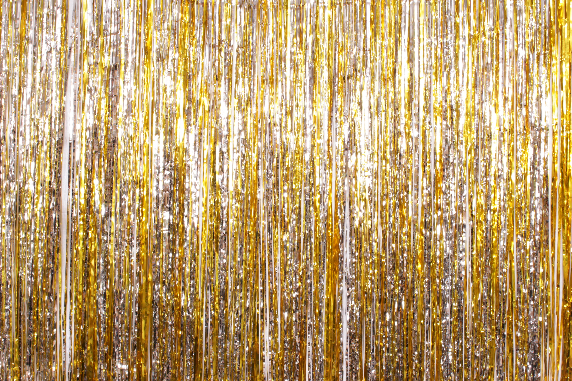 Gold Silver Tinsel**