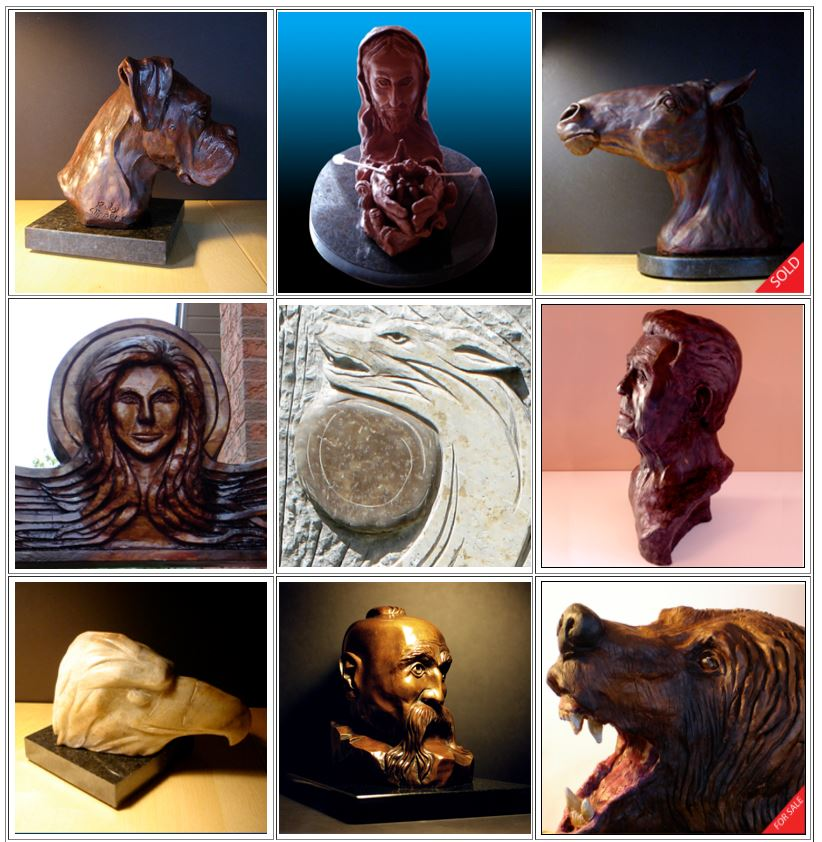 Find Larry Halycz online:  www.BlackWolfStudio.ca