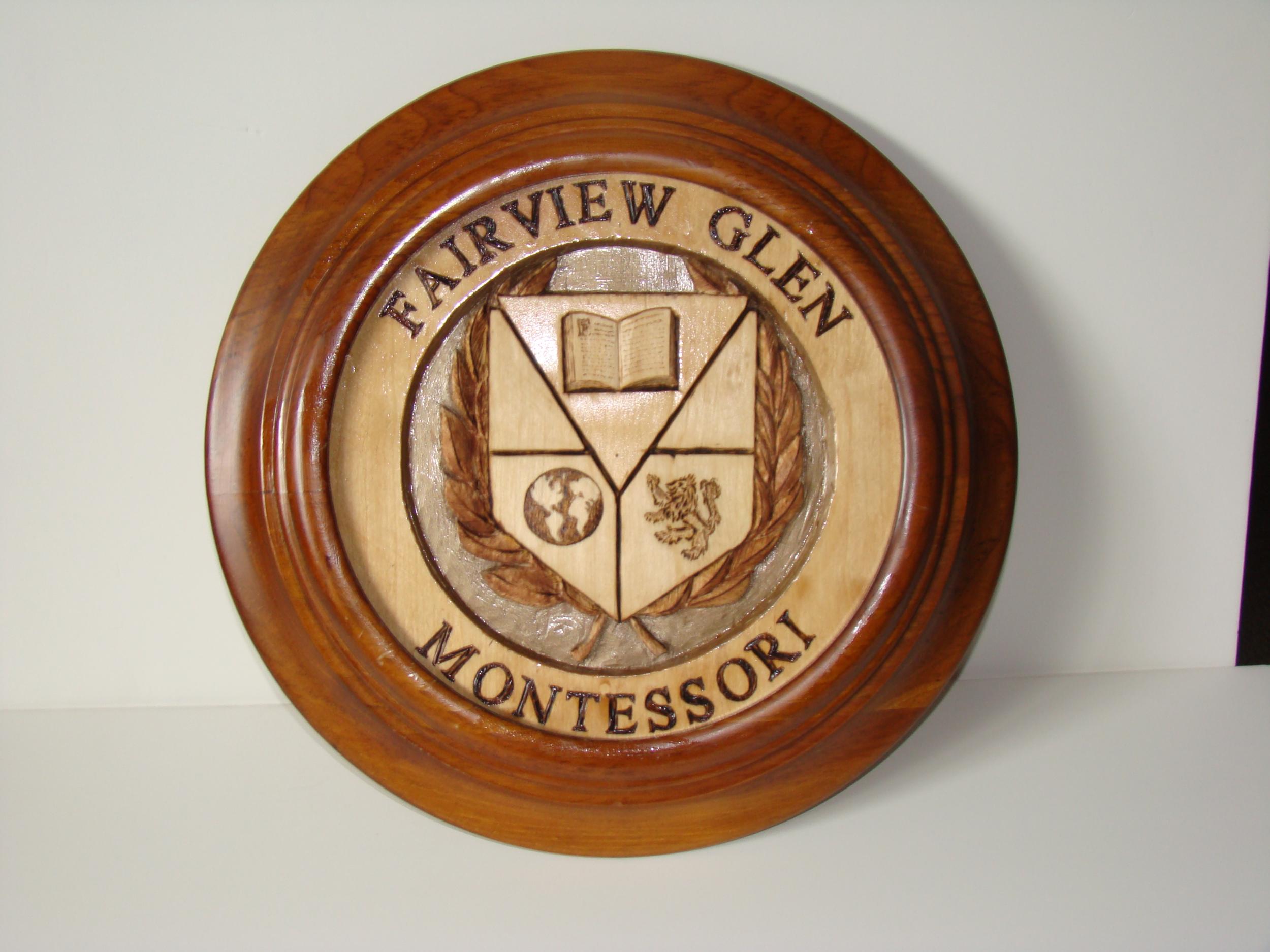 Fairview Glen Montessori Crest by Ken Maitland