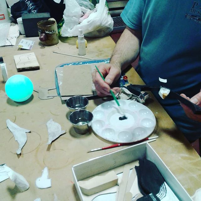 Dave. #sculptorsandwoodcarvers #agblife #ArtsBurl #artsburlington