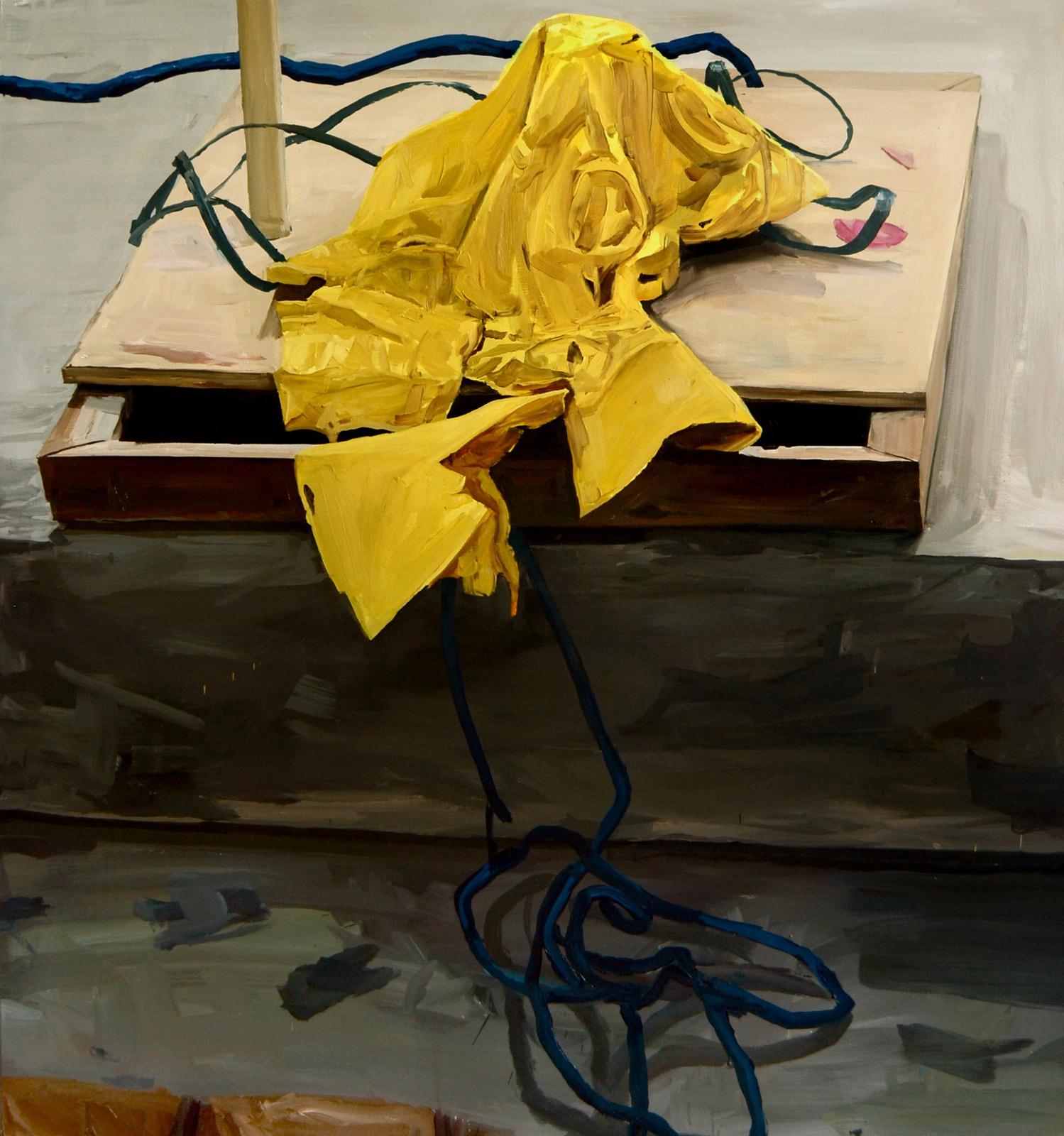Degrau, 2014/óleo sobre tela/150x140 cm_