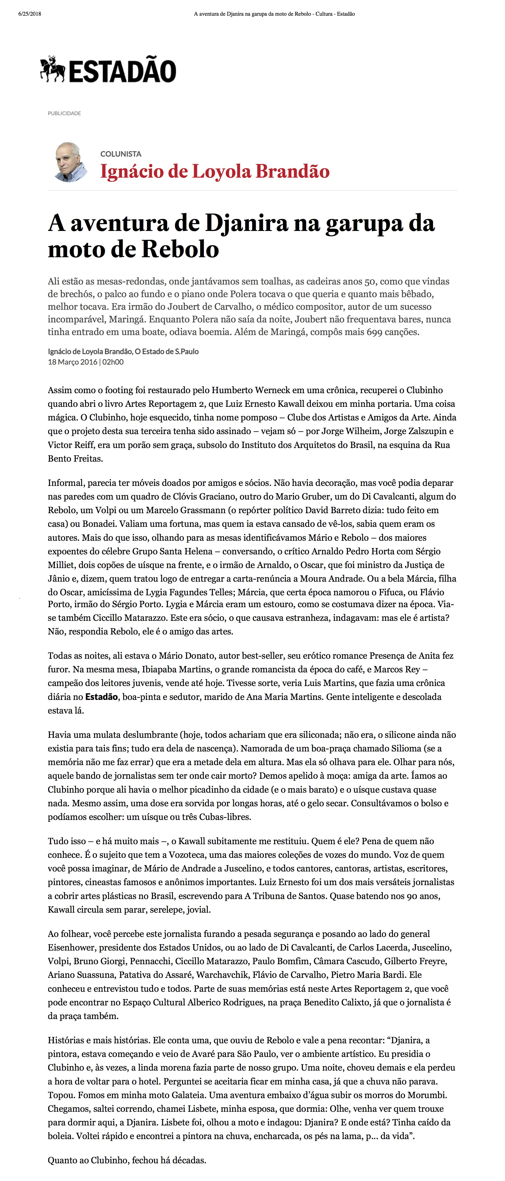 A aventura de Djanira na garupa da moto de Rebolo - Cultura - Estadão.jpg