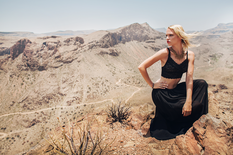 Janna Hilz,  Model