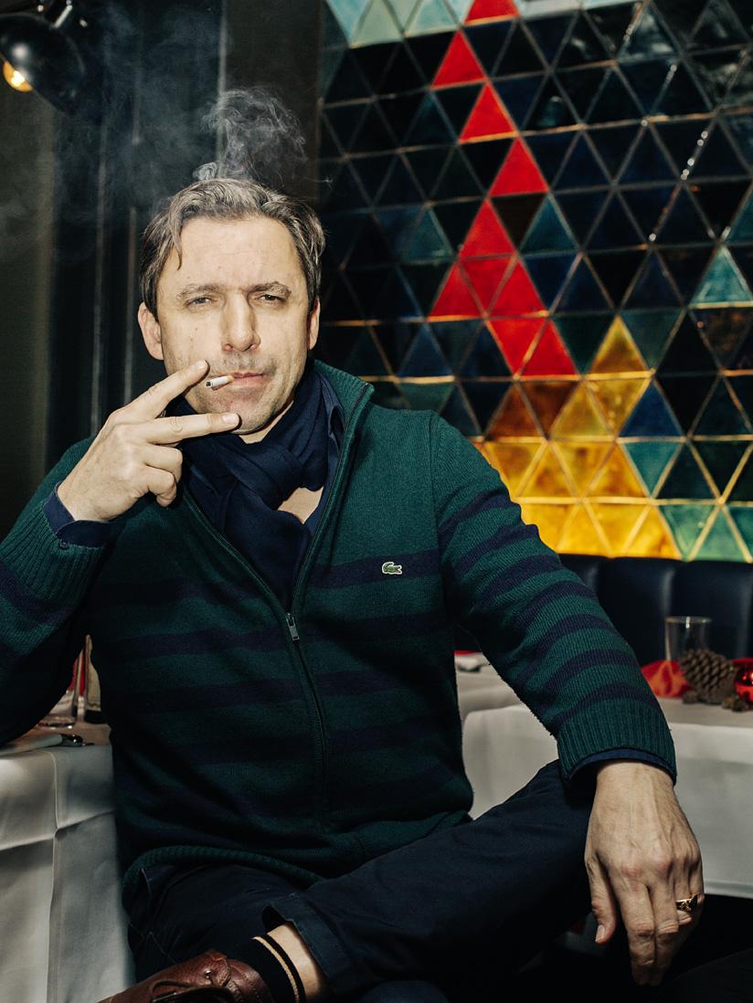 Rocko Schamoni,  Künstler und Schriftsteller    stern