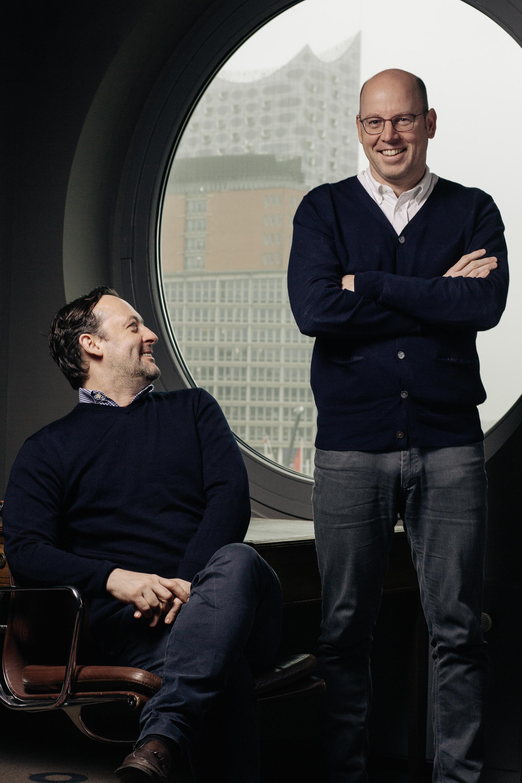 David Baum und Oliver Creutze,  Autoren    stern