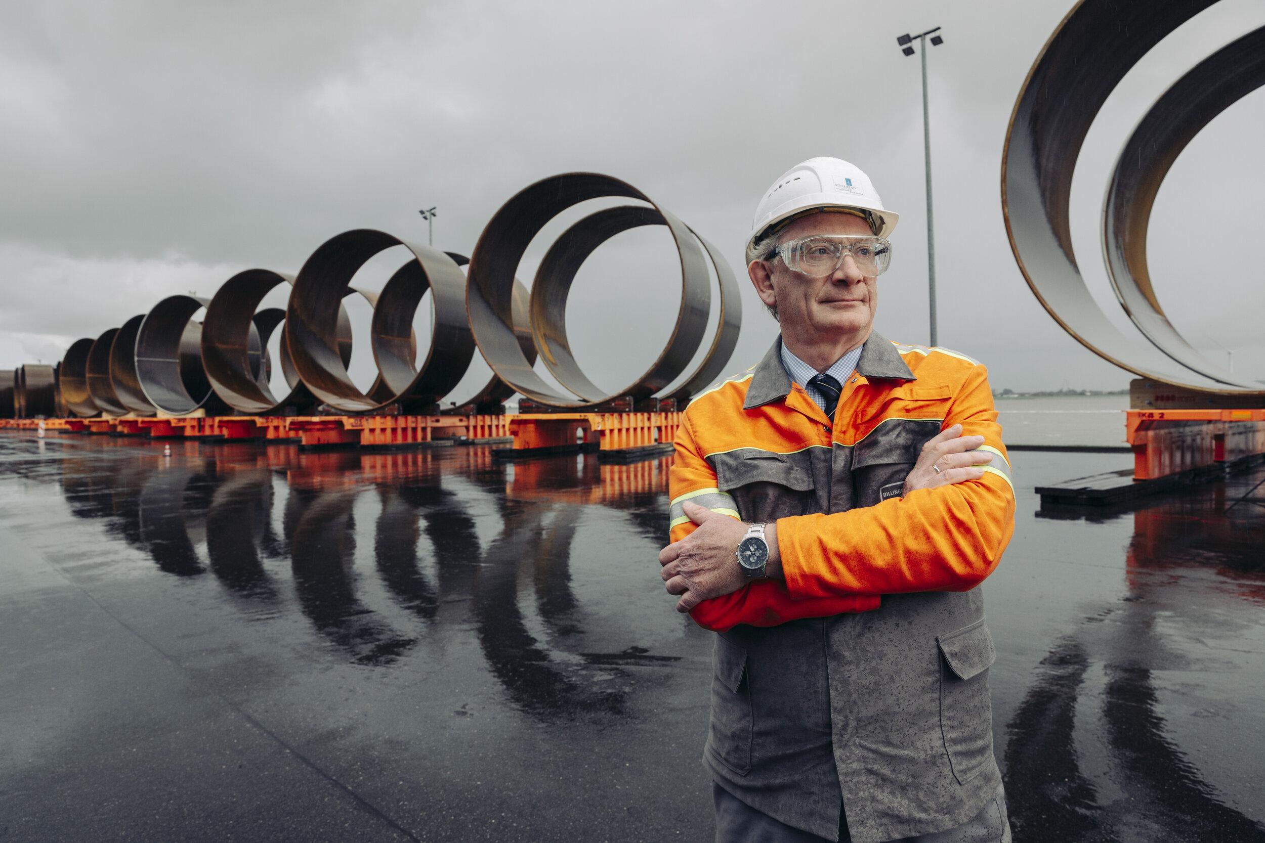 Ralf Hubo, CEO Steelwind Nordenham