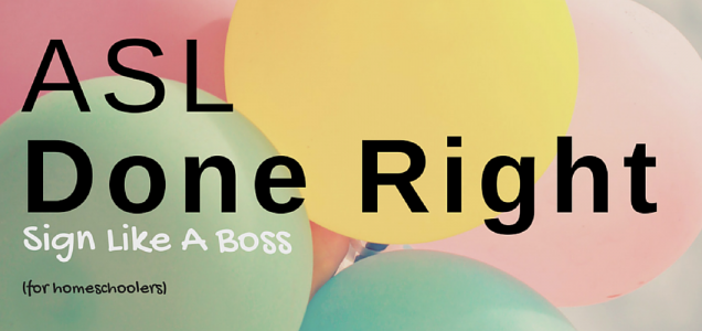 ASL Done Right: Sign Like a Boss Vol. 1 | Fun and easy to follow ASL course teaches not only vocabulary, but grammar, facial expressions, and receptive skills. Click to check it out!