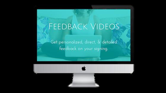 Feedback Videos Packages
