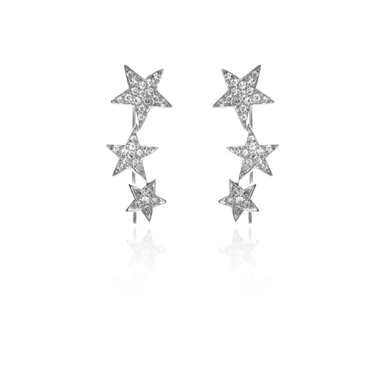 14k white gold and pave diamond three star station wireback earrings.jpg
