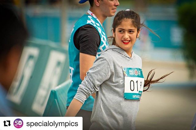 """Another beautiful story from a @worldgamesad athlete..we're continually inspired by the #UnifiedGeneration!!💥#ChooseToInclude🌟 #InclusionRevolution🔥 ・・・ #Repost @specialolympics """"My parents fled Afghanistan during the war, and I was born in Iran. Growing up was tough. My teachers didn't know how to engage with children with learning disabilities. They abused and beat me. My family returned to Afghanistan when I was 8, but school wasn't any easier. I kept failing and getting scolded. I hated school but I looked forward to sports. My parents own a sports equipment shop, and heard about Special Olympics. I joined when I was 12, and discovered my talent in athletics. My training has paid off. I got a silver medal at the @worldgamesad. First thing I did was call my mum. She was in tears. My mum's dream was to be an athlete but it was tough back then for women in Afghanistan to live their dreams. It still isn't easy especially for women with intellectual disabilities. I'm glad I found the courage to fulfill my dreams and hers."""" - Nigin Afshar, Special Olympics Afghanistan. 📸: @soasiapacific"""