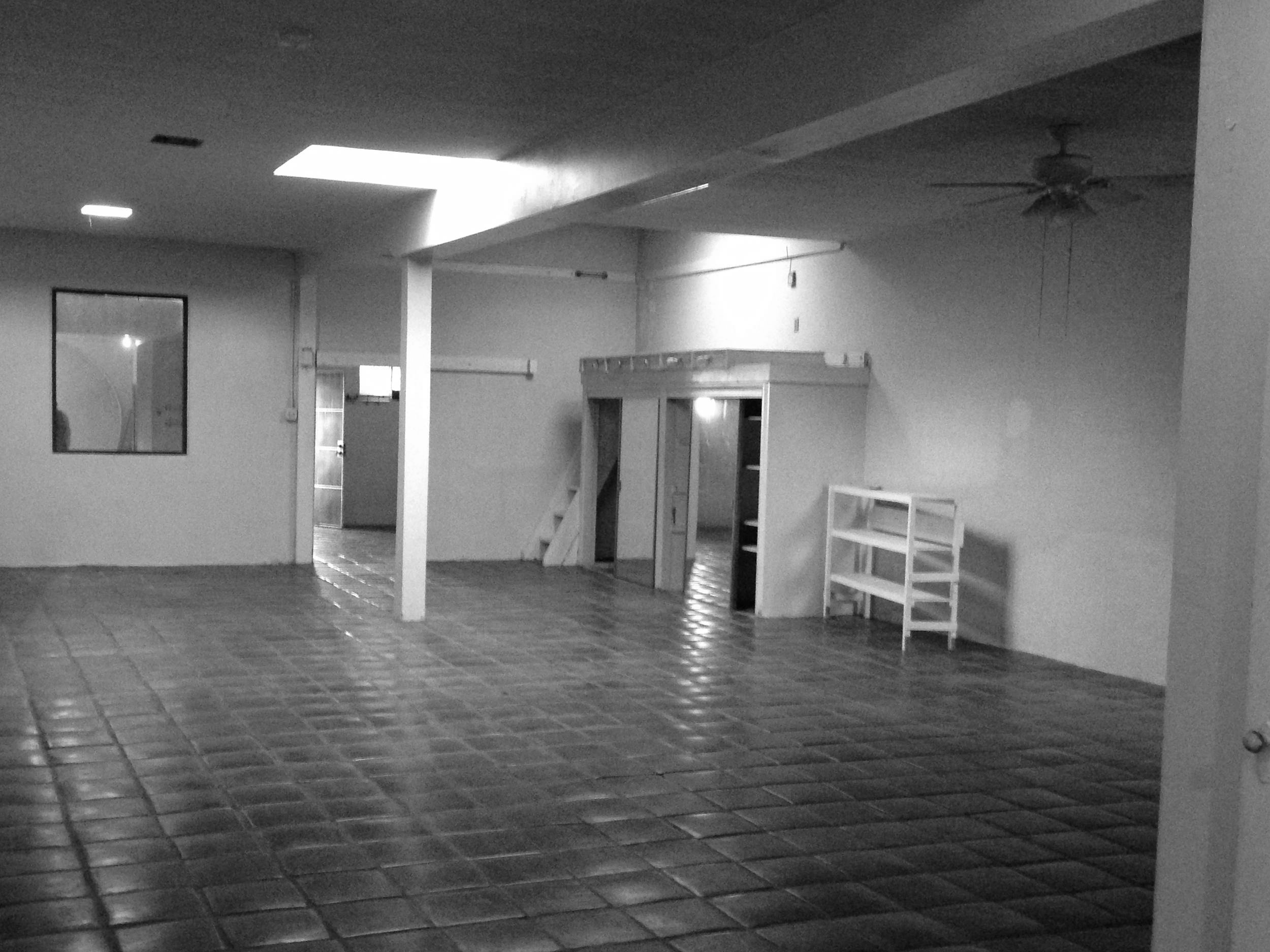Photo of the building's interior prior to the renovation.