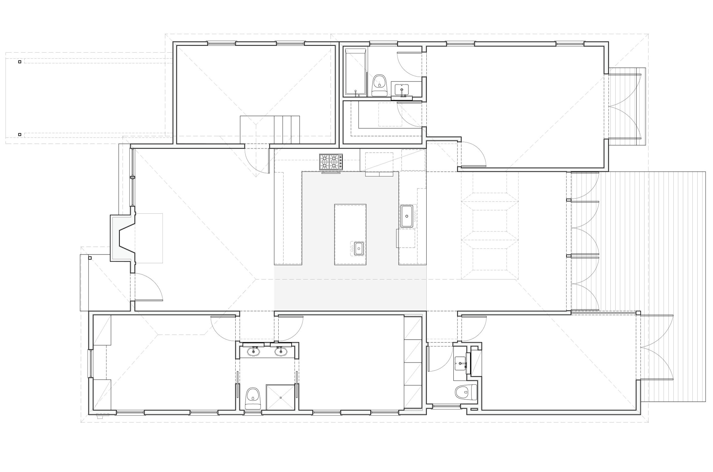 The new 2,040 square foot plan.
