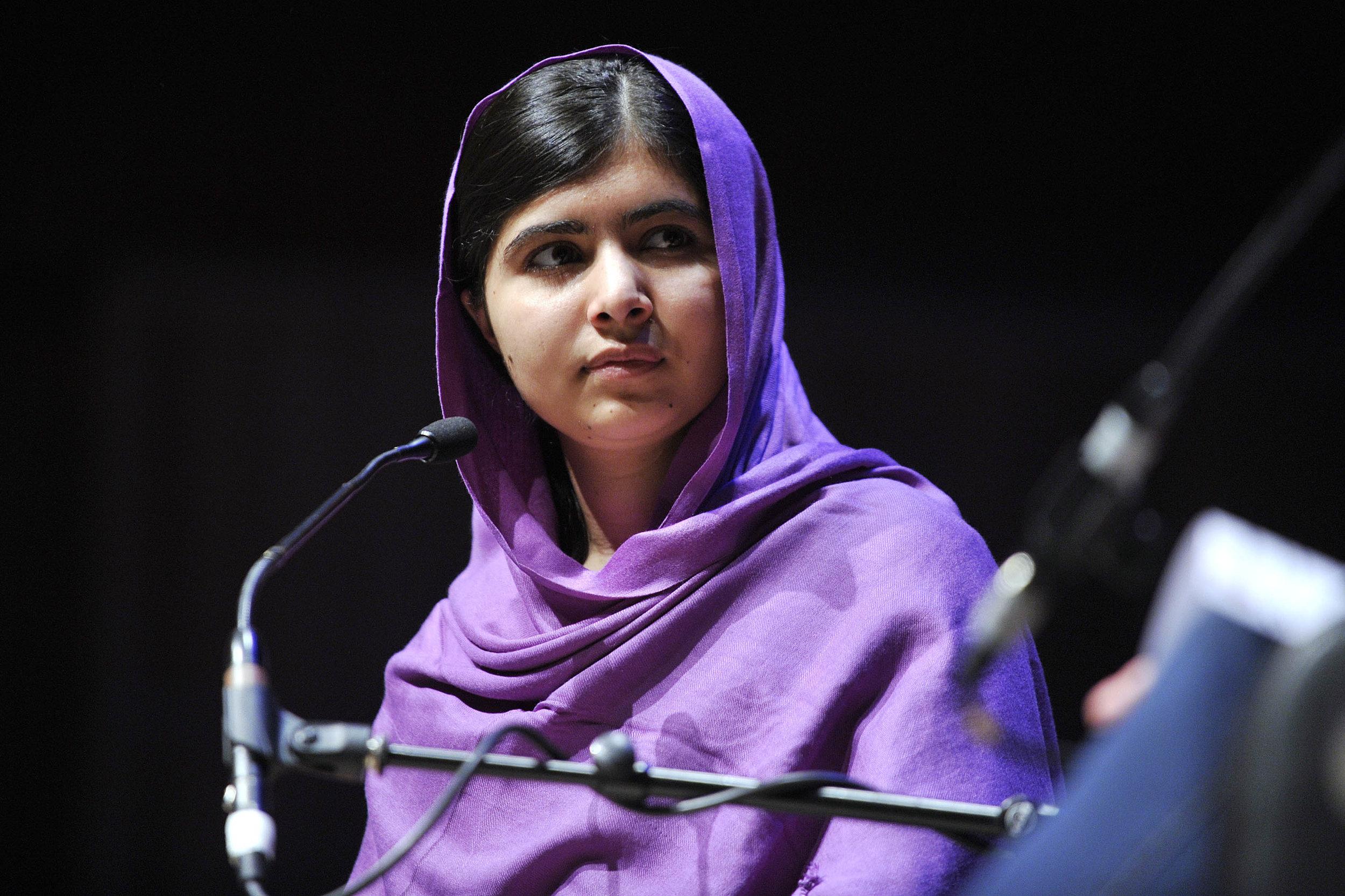 Malala Yousafzai, Courtesy of  Southbank Centre