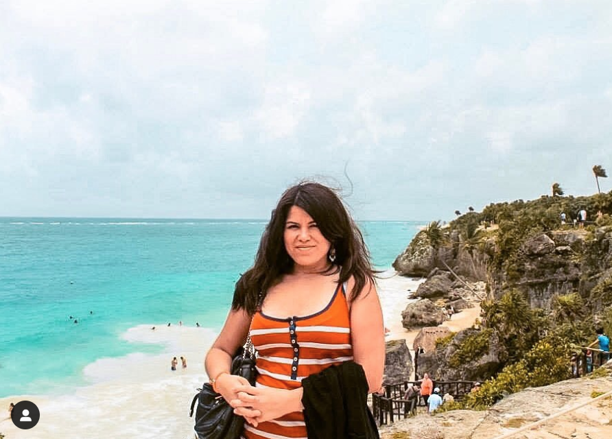 Hanny of  @theglobalwanderess  in Cancun