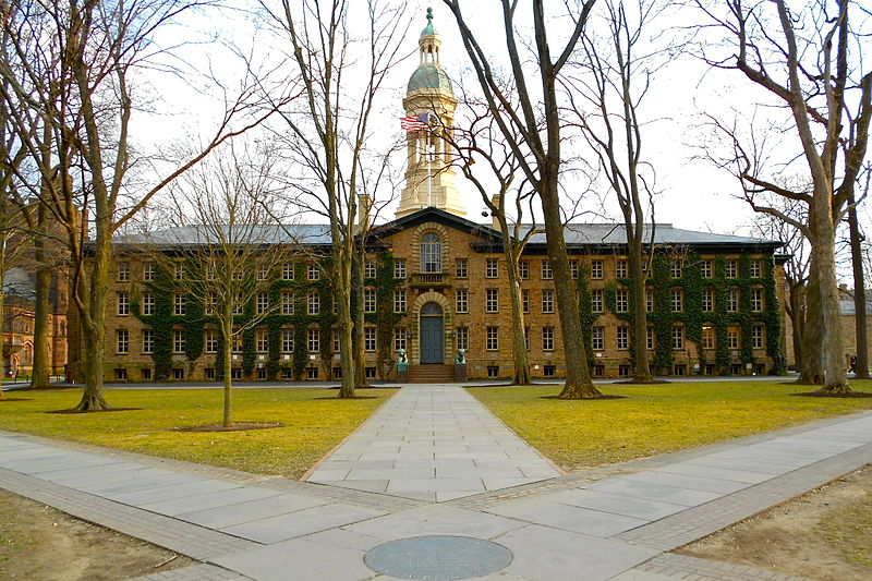 Nassau Hall at Princeton University