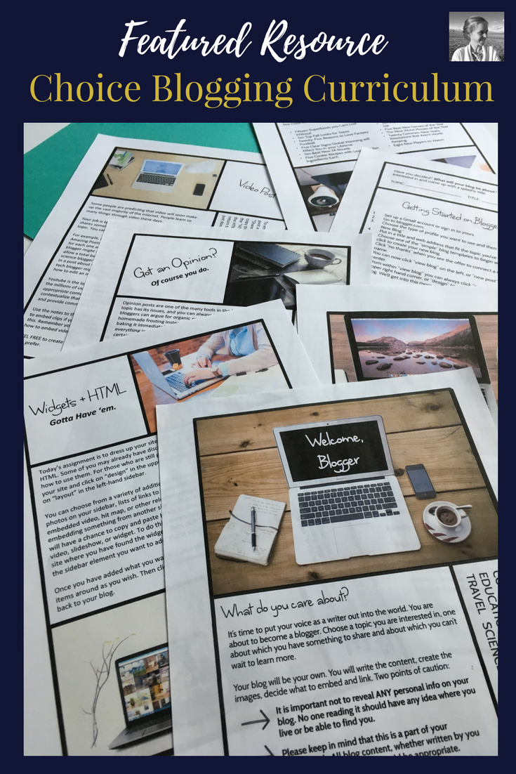 If you love the idea of a blogging unit, but are short on time to implement it, you can pick up my full curriculum  right here .