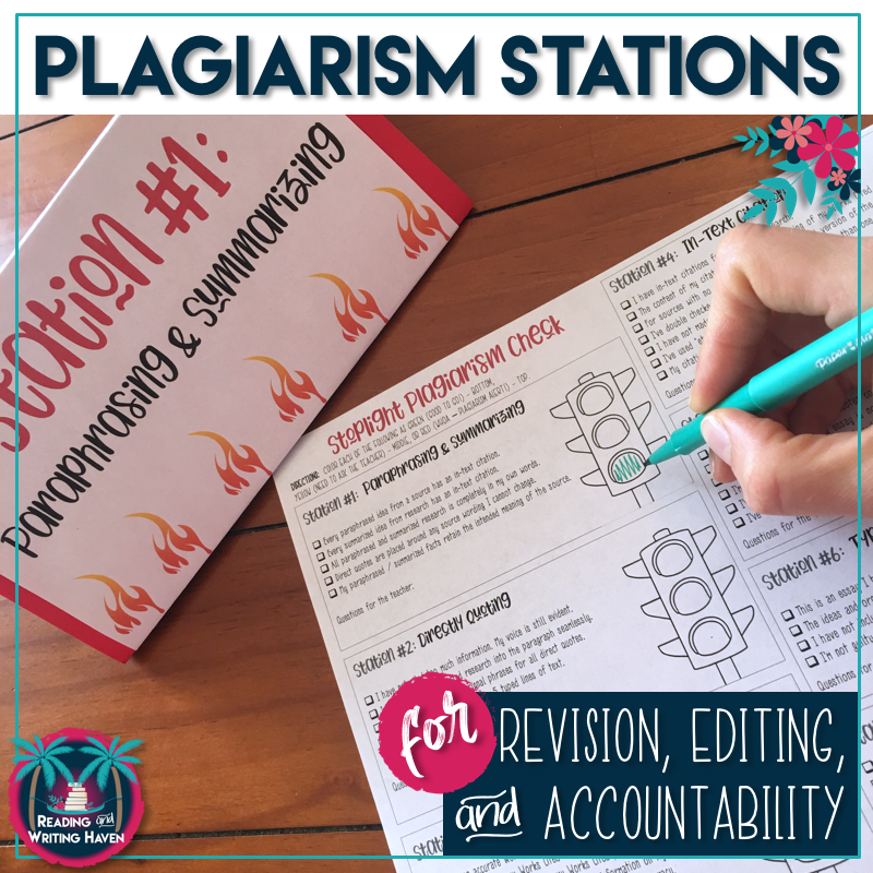 Stoplight Plagiarism Revision and Editing Stations 1.png