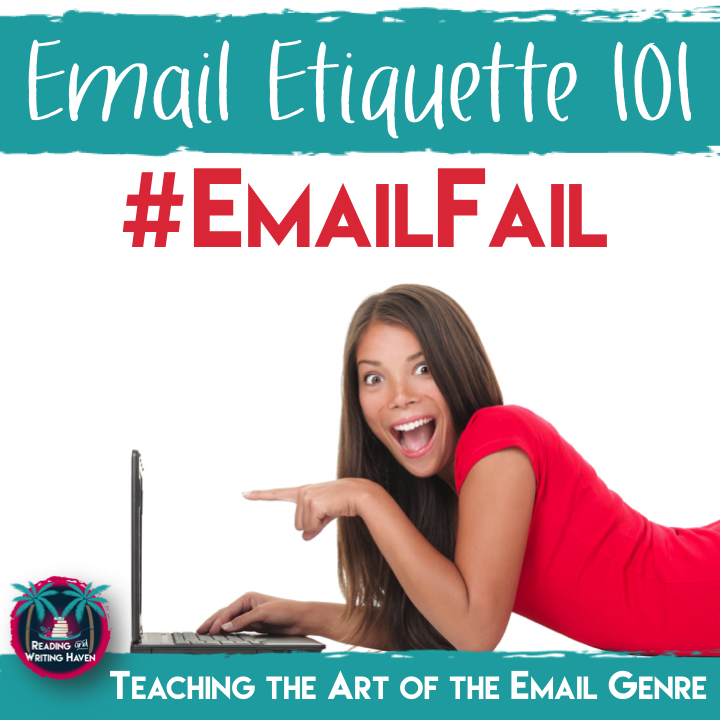 Teach students to write professional, kind, and eloquent emails to their teachers. Stop the rudeness!