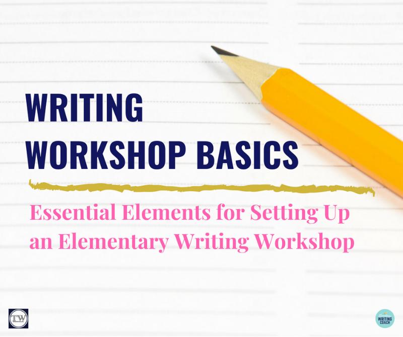 Writing Workshop Basics