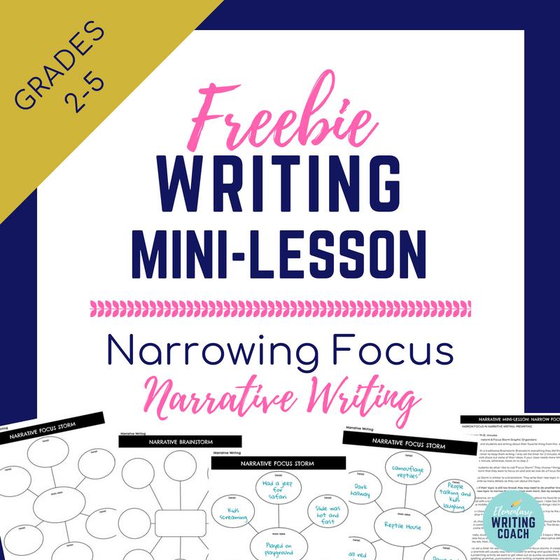 Narrative writing mini lessons 5th grade esl reflective essay ghostwriters service usa