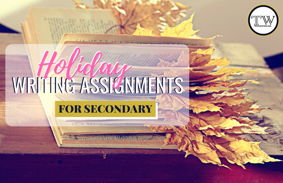 Holiday writing activities for middle and high school ELA