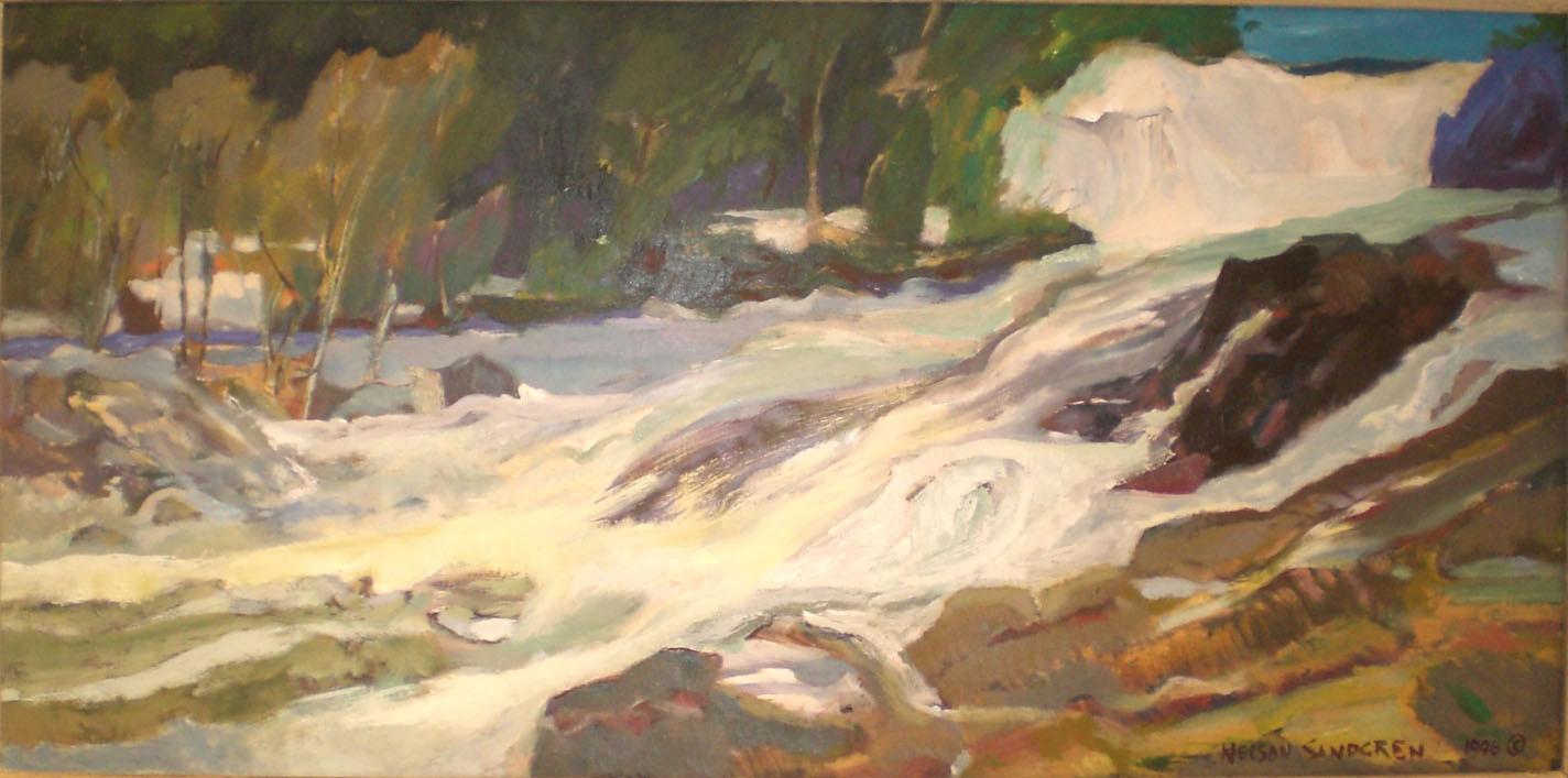 Luckiamute River,  Nelson Sandgren