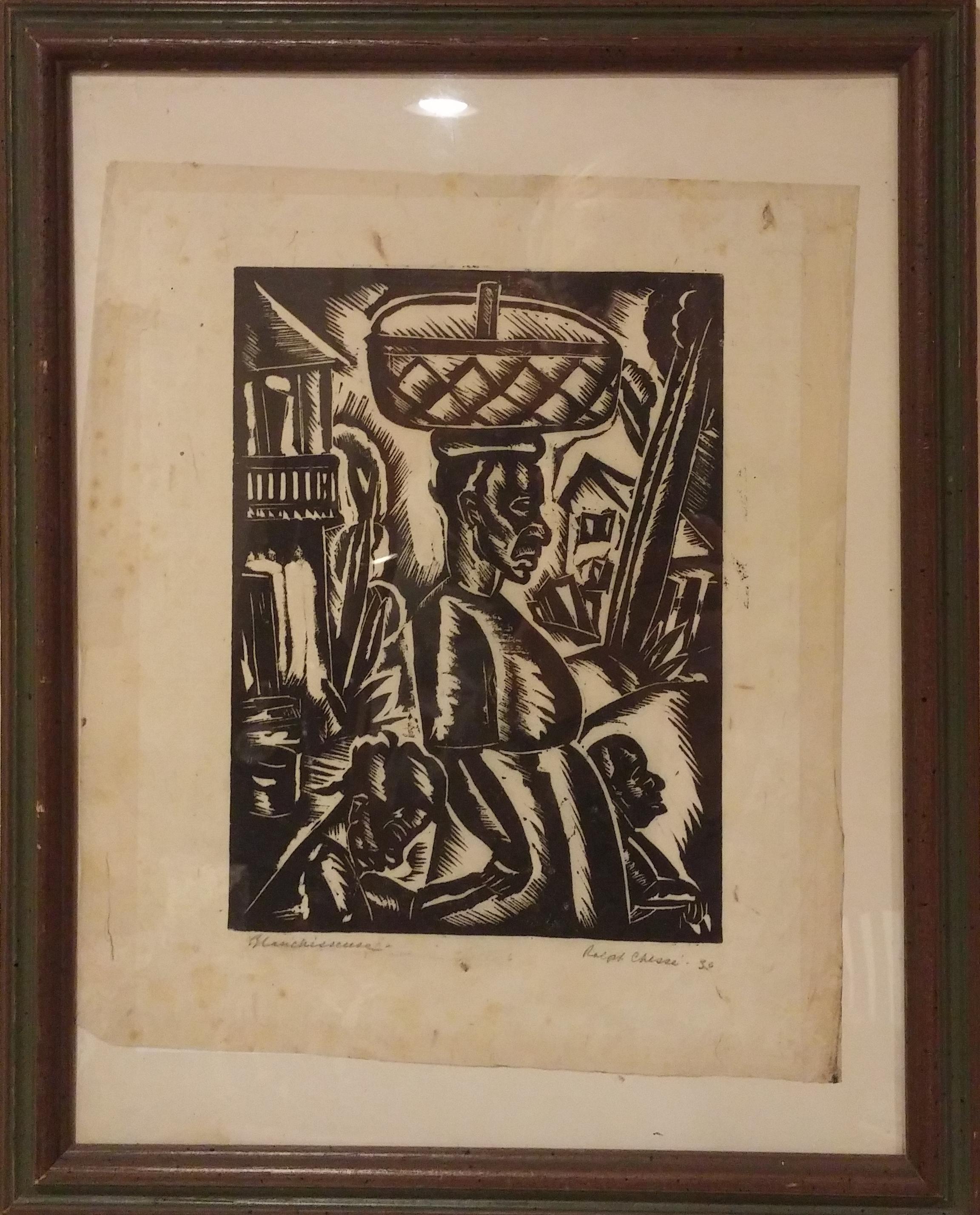 Blanchisseuse , print  Pathways Original Print Collection