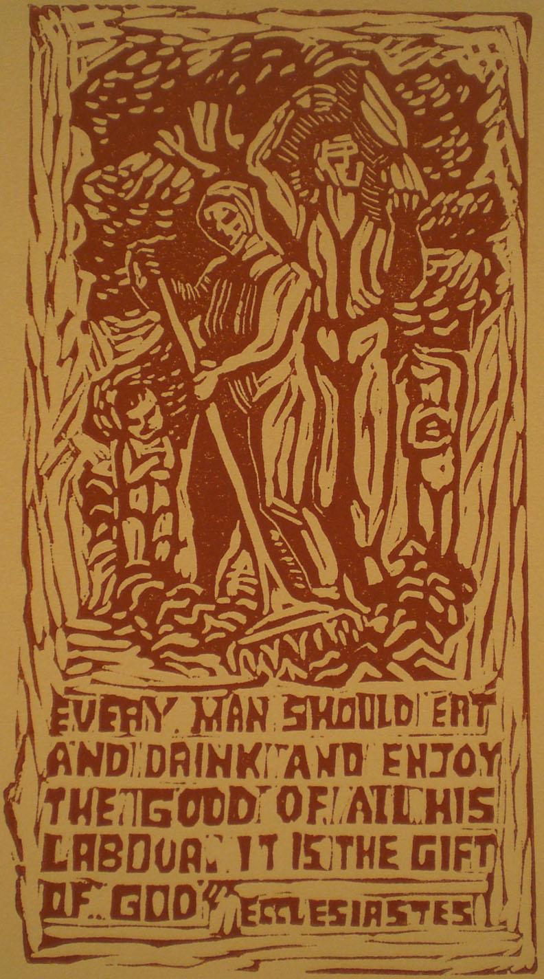 Ecclesiastes (Harvesters) , 11 x 15  Martina Gangle Curl