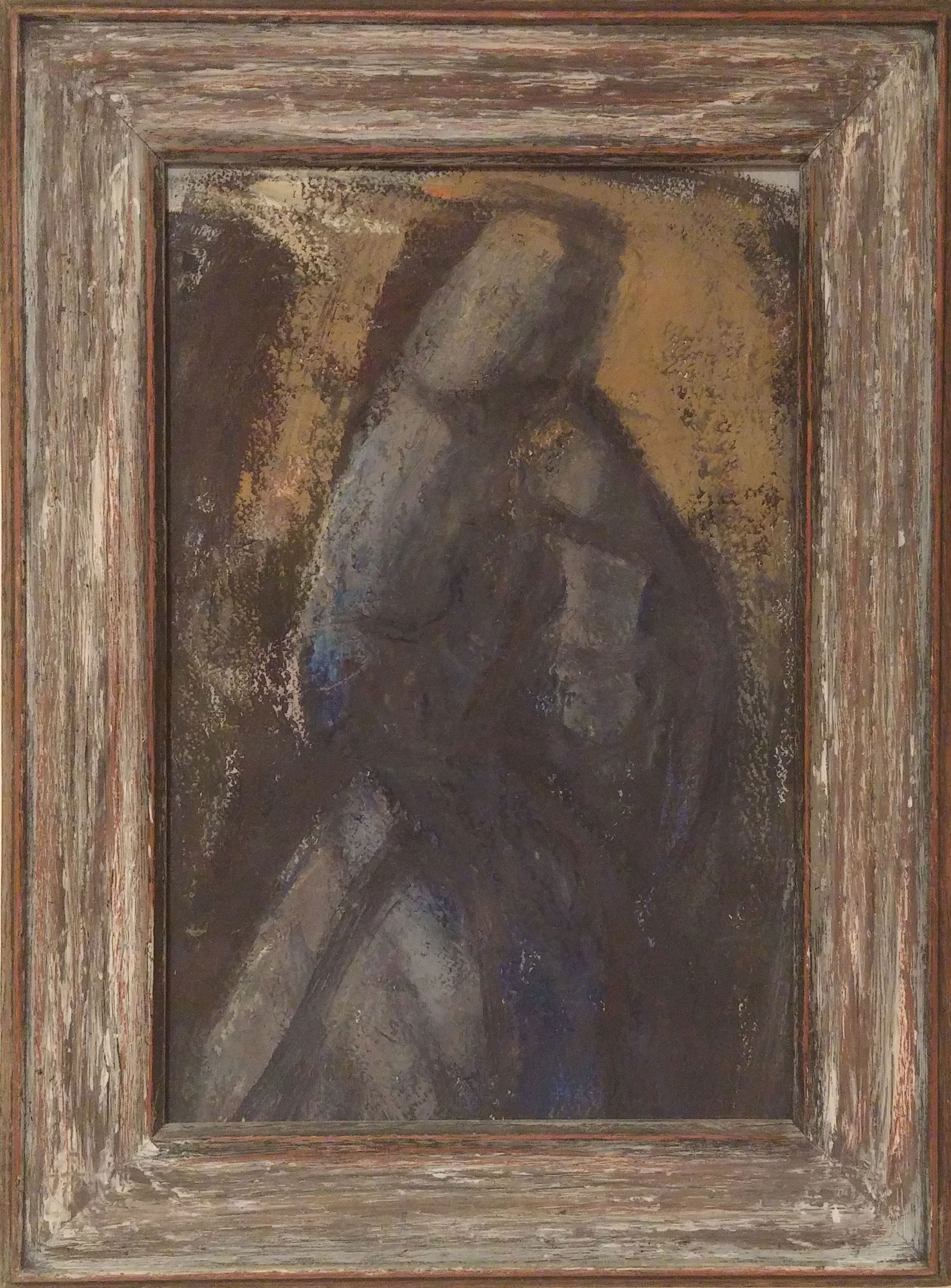 Madonna , oil, 7x10  Pathways Private Collection