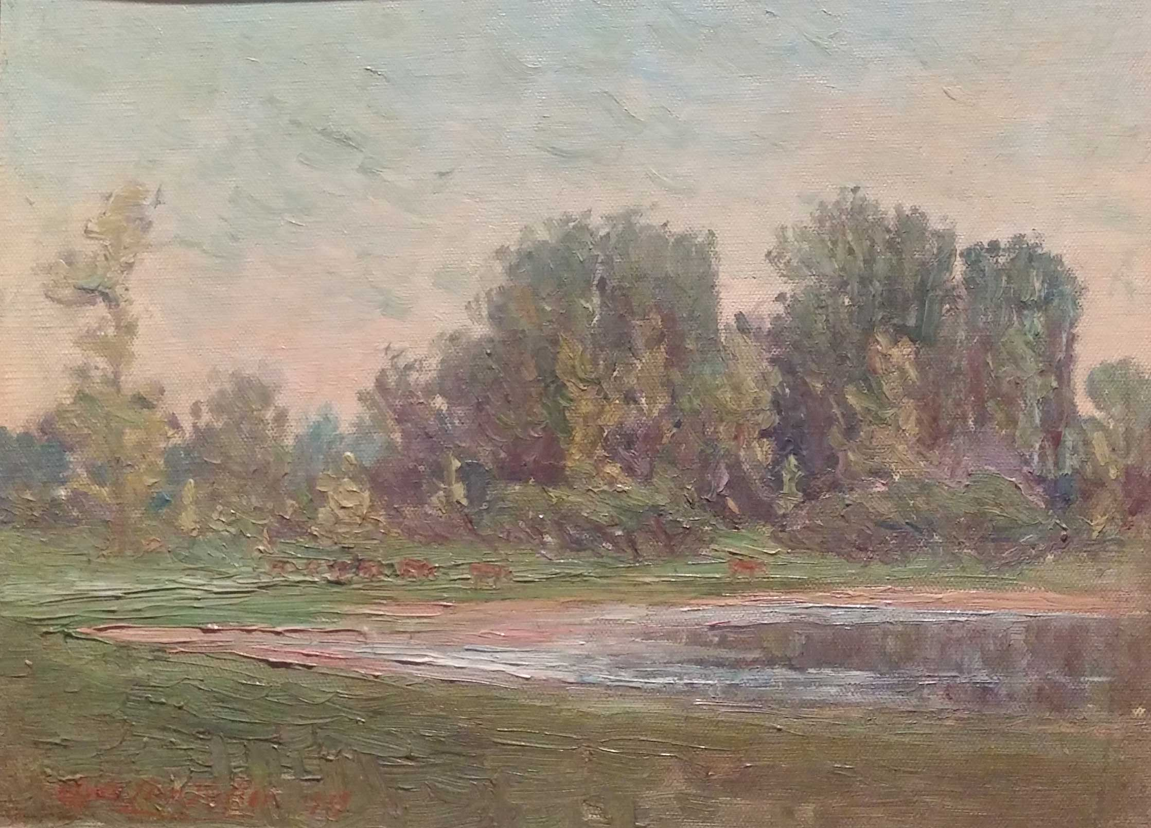 oil, 18x12  Pathways Private Collection
