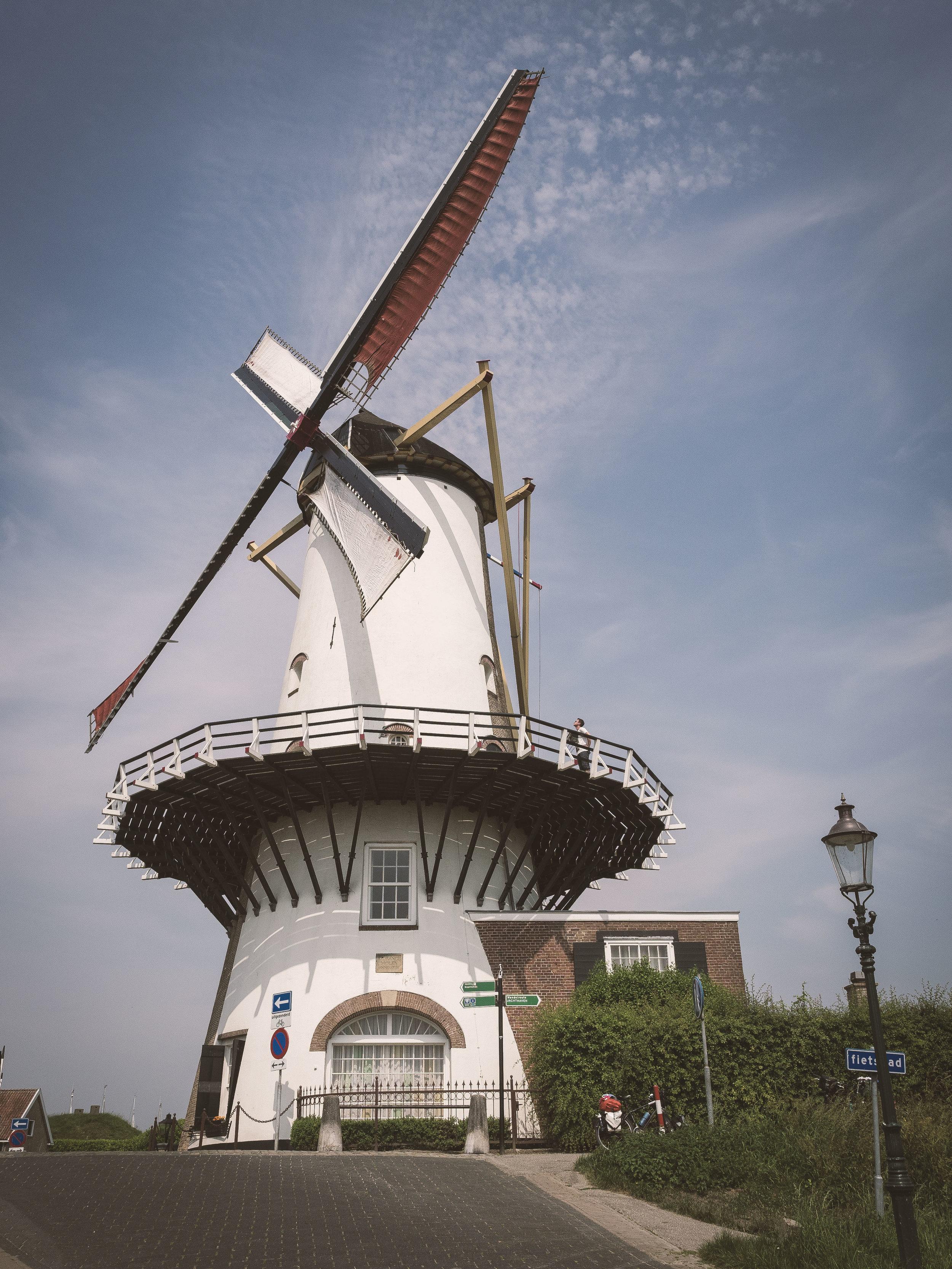 Holland = Windmühlen, Klischee bestätigt