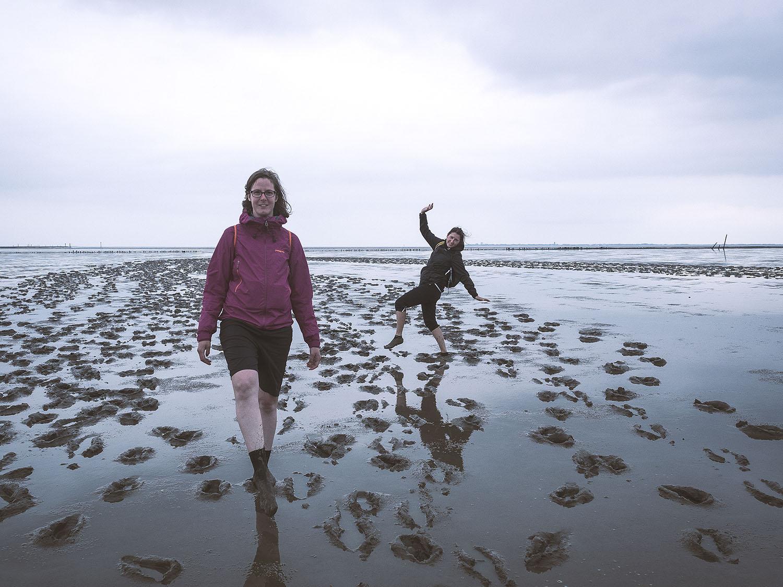 Das Wattenmeer, sehr eindrücklich