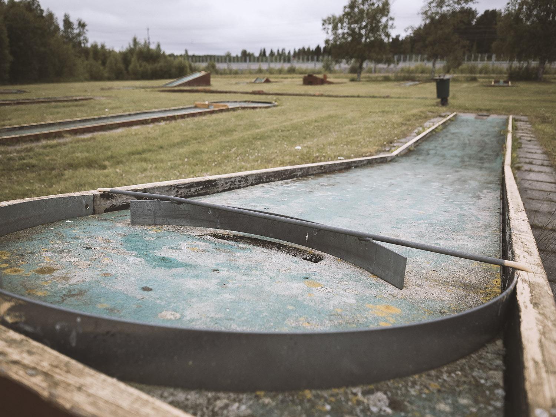 """""""Bangolf"""", der Renner bei den Schweden"""