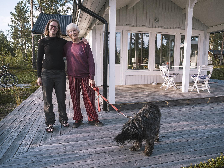 Diese hilfsbereite Schwedin hat uns einen Geheimtipp für einen Camping gegeben