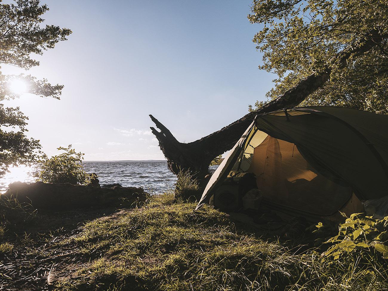 Wild Camp zum Ersten