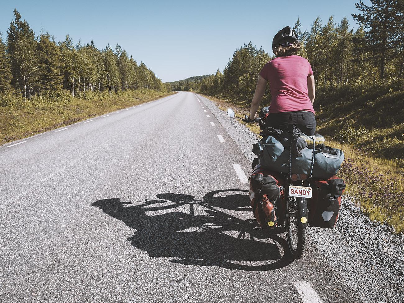 Wir nähern uns der Grenze zu Finnland