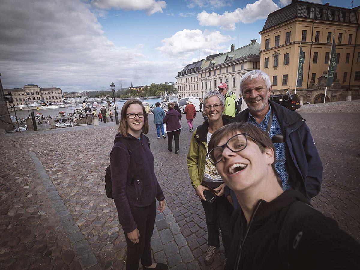 Besuch der Eltern Volery in Stockholm