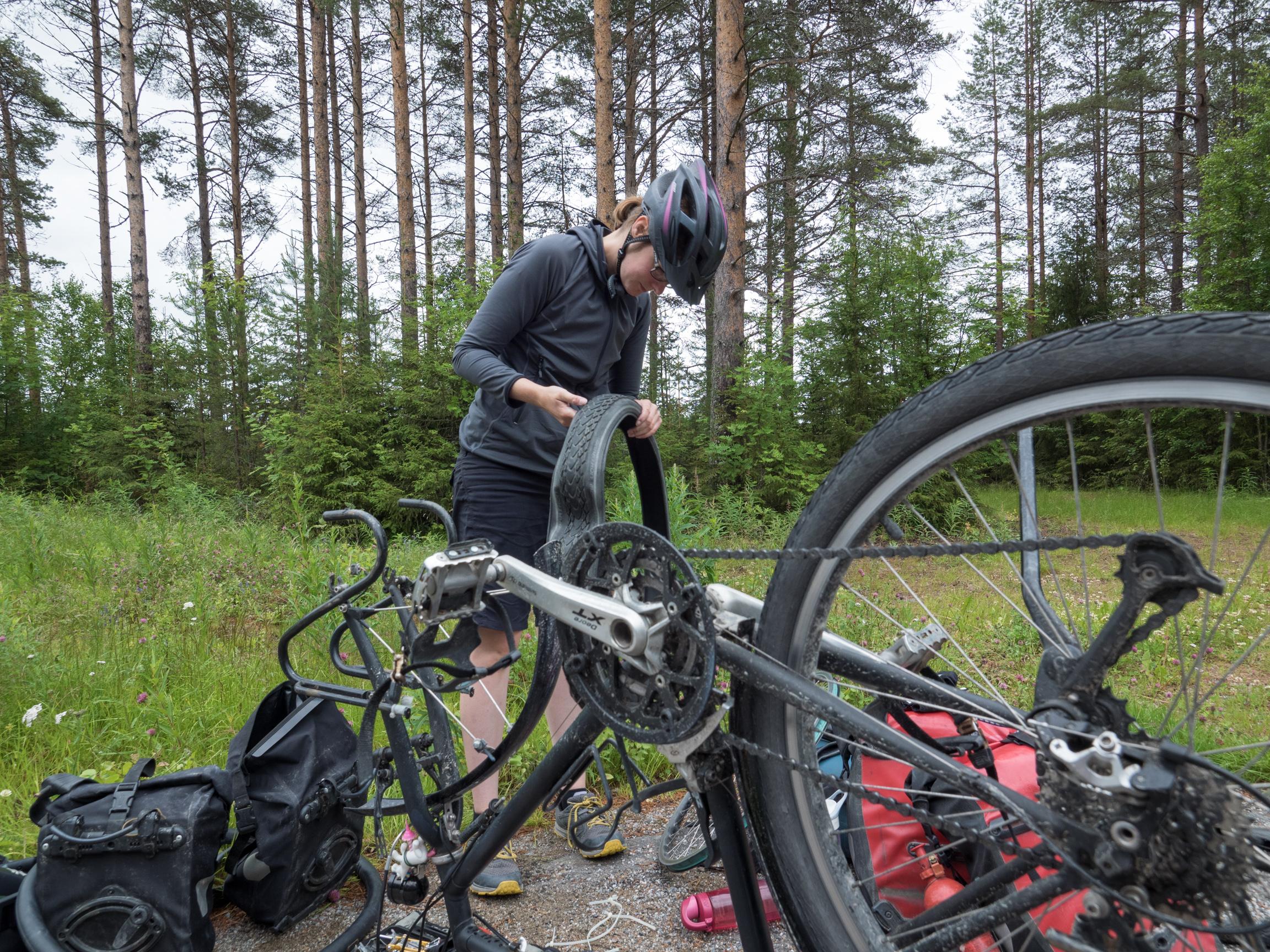Es ist Zeit für neue Reifen