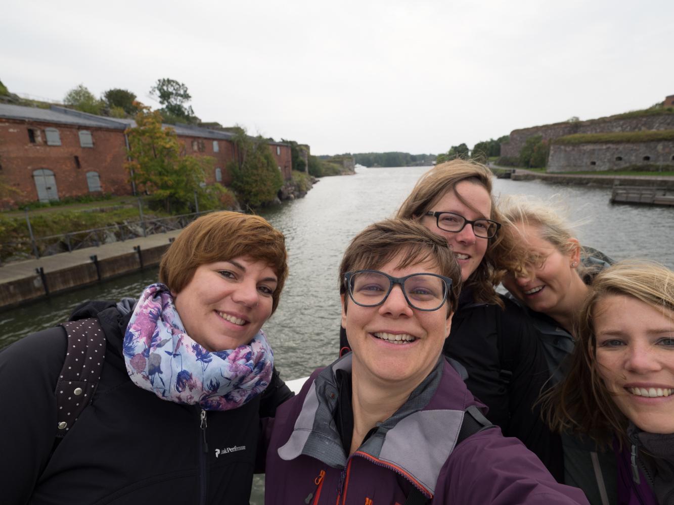 Mit den Nidauer Mädels in Helsinki