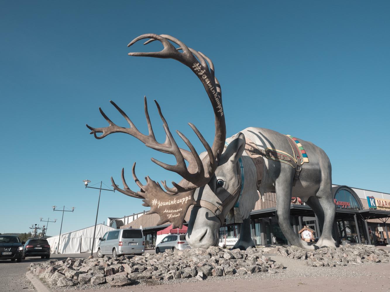 Das Wahrzeichen Lapplands