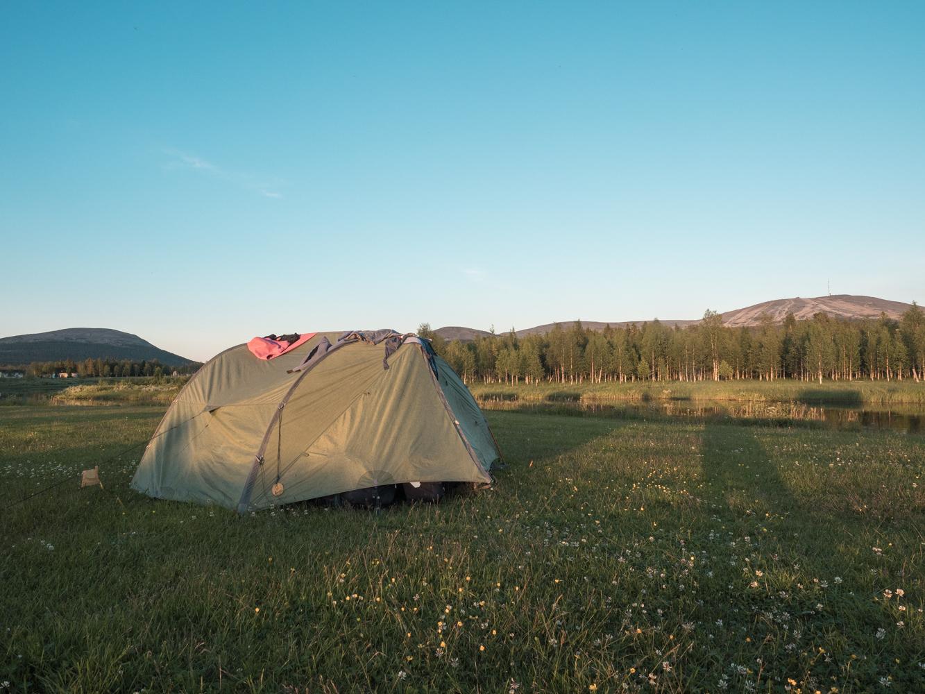 Auf dem Camping