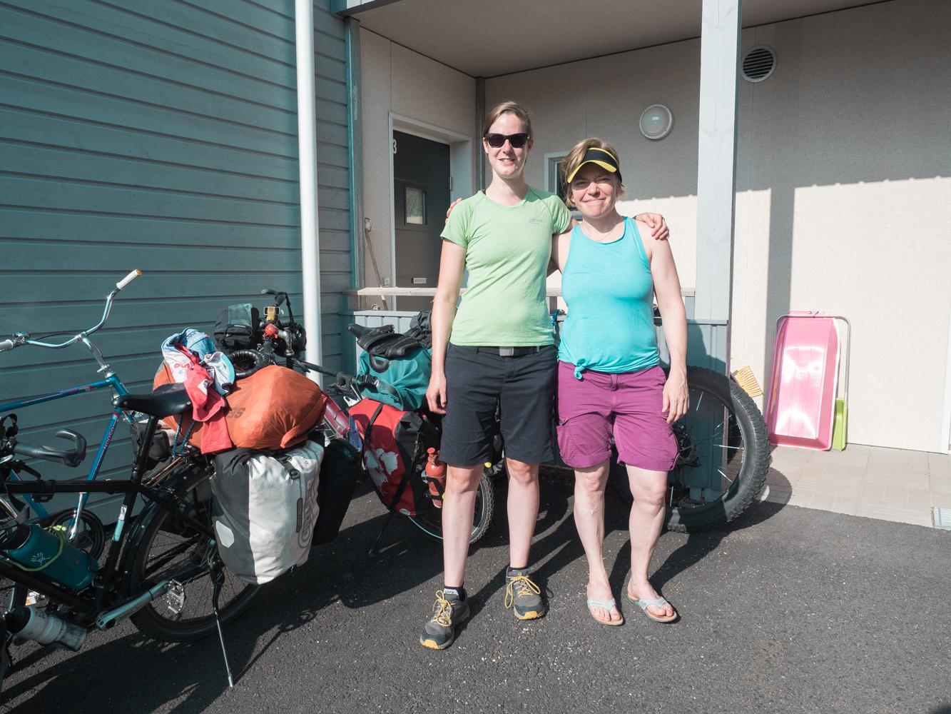 Zu Besuch bei Miia und Panu in Sirkka