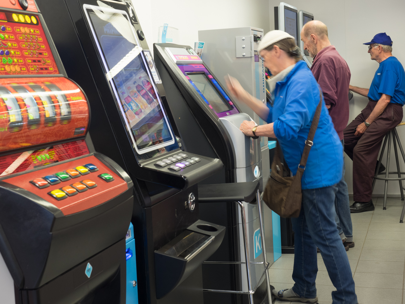 Spielautomaten gibt's in jedem Kiosk oder Supermarkt