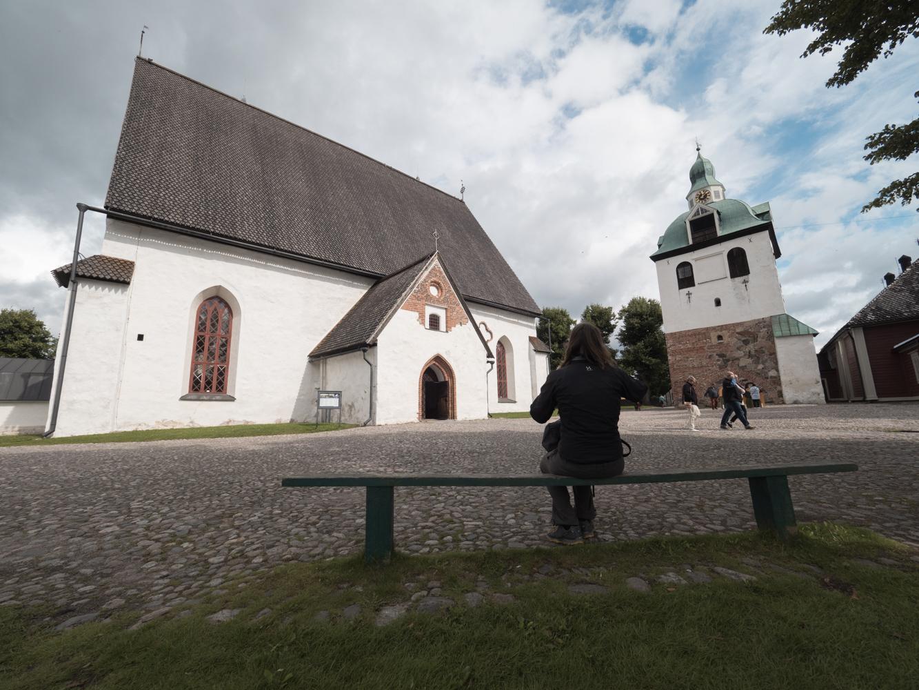 Der Dom von Porvoo aus dem 13. Jahrhundert